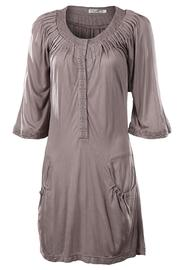 Mur Monoreno Pleated Grey Tunic - Product Mini Image