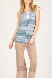Mur Monoreno Sleeveless Knit Sweater - Product Mini Image