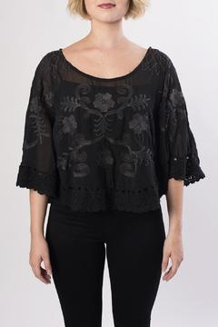 Mur Mur Cropped Lace Top - Product List Image