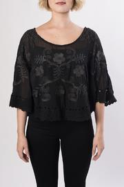 Mur Mur Cropped Lace Top - Product Mini Image