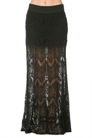 Mur Mur Lace Maxi Skirt - Product Mini Image