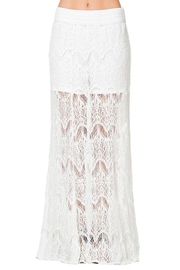 Mur Mur Lace Maxi Skirt - Front cropped