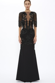 Murad Nippon-Cloud Embellished Gown - Product Mini Image