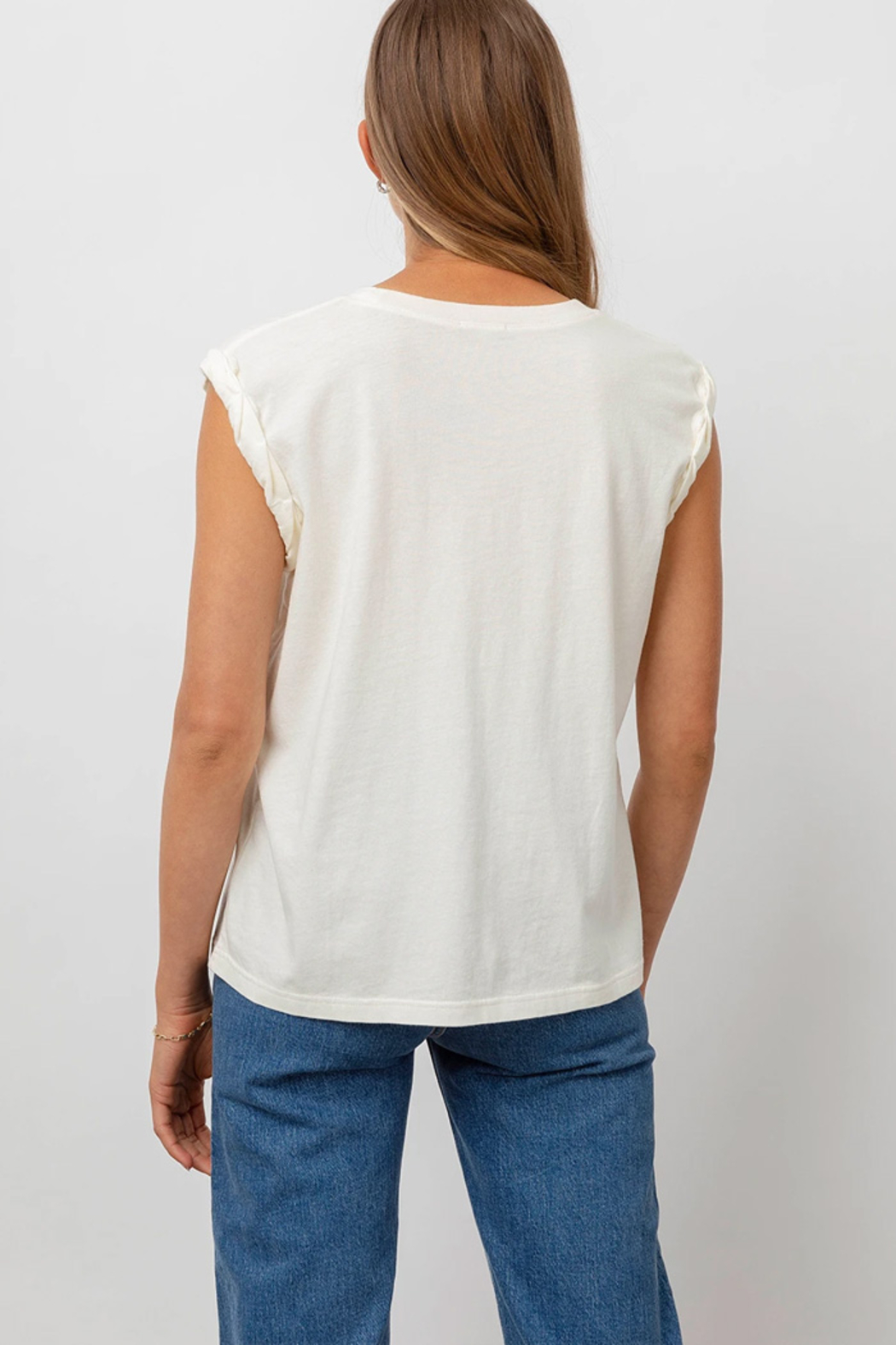 Rails Clothing Muscle Tank - Back Cropped Image
