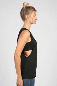 Articles of Society Muscle Tank with Shelf Bra - Alternate List Image