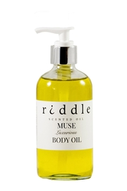 Riddle Oil Muse Body Oil - Front cropped