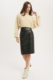 Muse Faux Leather Skirt - Product Mini Image