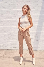 Muse Mixed Corduroy Trousers - Front full body