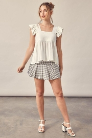 Muse Square Neck Baby Doll Top - Product Mini Image