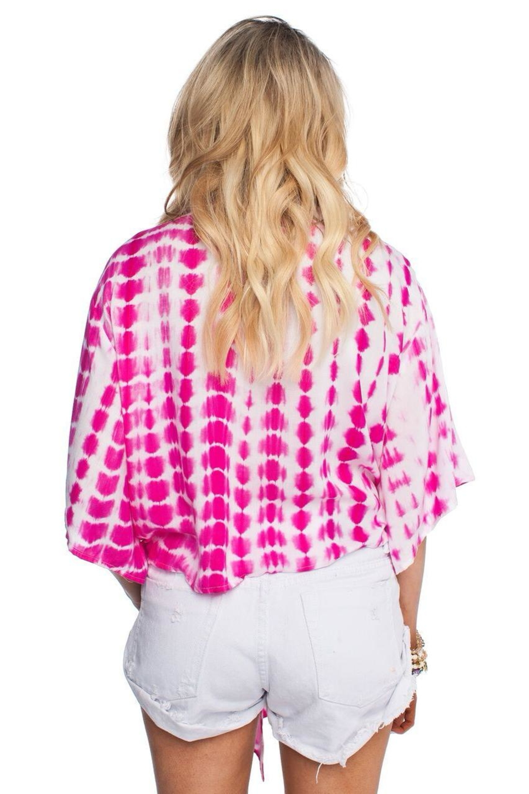Buddy Love Muse Tie-Front Top - Front Full Image