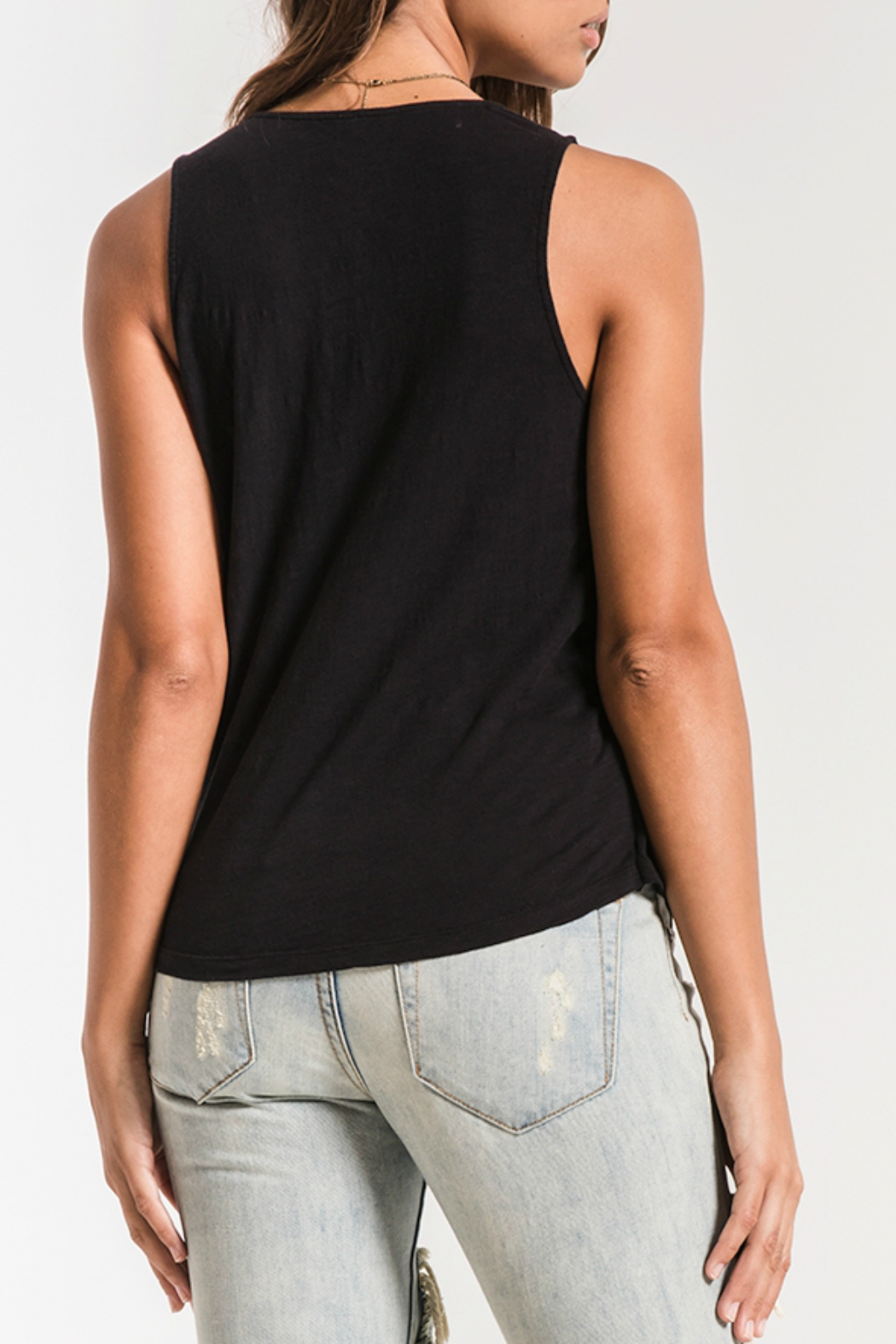 z supply Muse Wrap Tank - Front Full Image