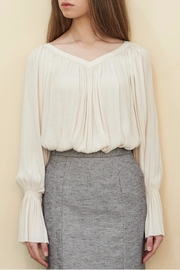 Muse by Rose Crepe Flowy Blouse - Side cropped