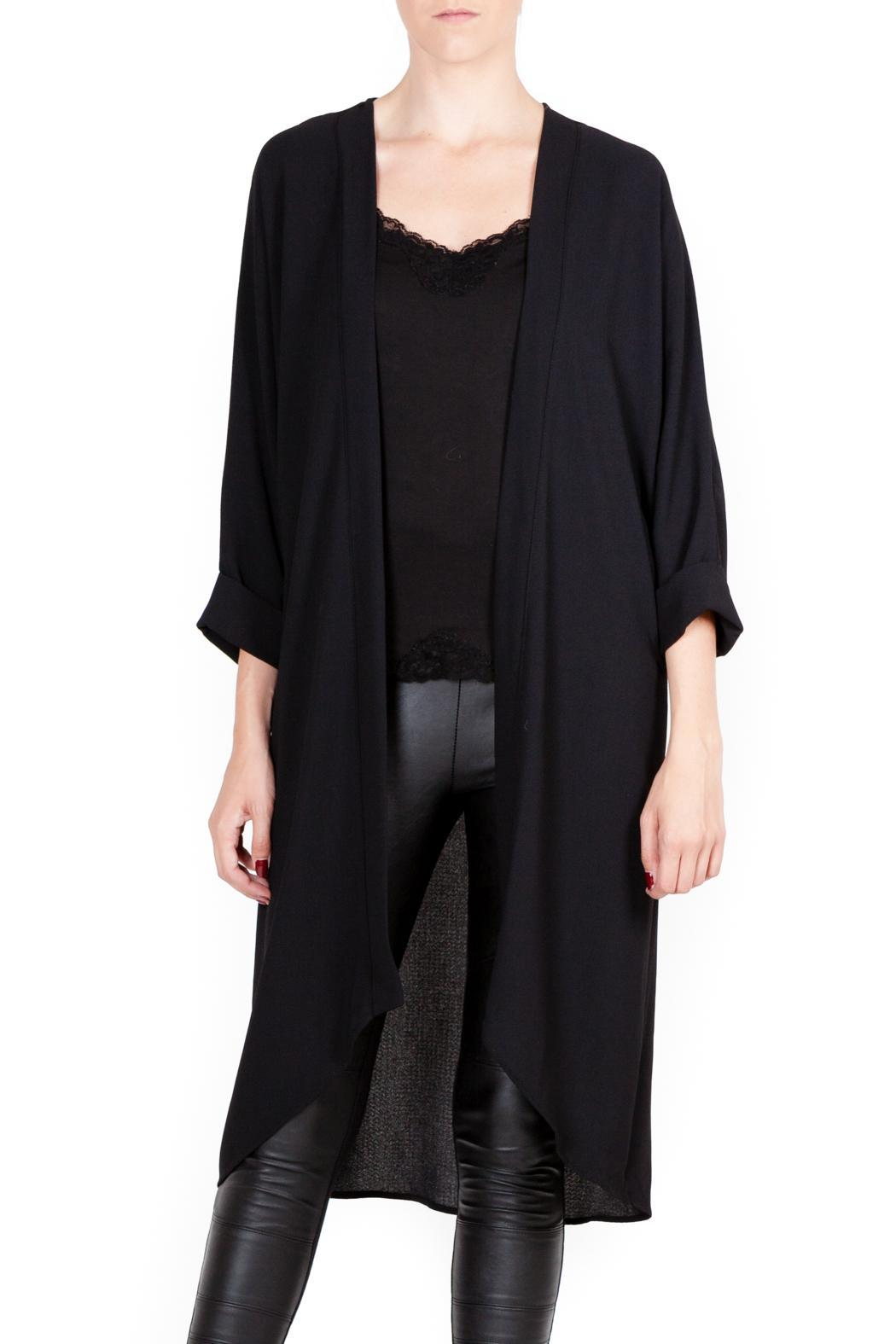 Muse Social Fashion House Black Sheer Cardigan from Canada ...