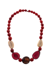 Mushpa + Mensa Amazon Tagau Pambil Necklace - Front cropped