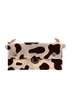 Mushpa + Mensa Cow Felt Clutch - Product List Image
