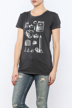 Mushpa + Mensa I Am Grey T-Shirt - Product List Image