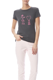 Mushpa + Mensa Love Hostage T-Shirt - Front cropped