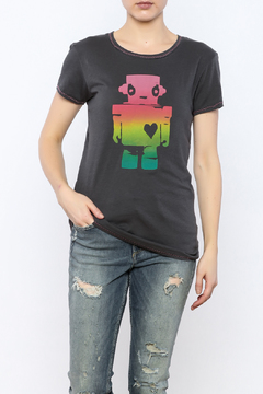 Mushpa + Mensa Robot Girl T-Shirt - Product List Image