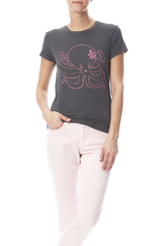 Mushpa + Mensa Pink Olivia T-Shirt - Product Mini Image