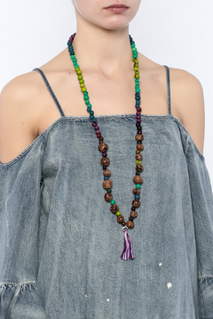 Mushpa + Mensa Pambil Acai Tassel Necklace - Alternate List Image