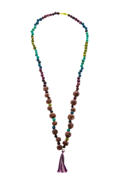 Mushpa + Mensa Pambil Acai Tassel Necklace - Product List Image