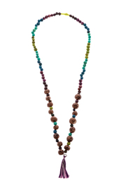 Mushpa + Mensa Pambil Acai Tassel Necklace - Product Mini Image