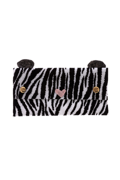 Mushpa + Mensa Zebra Felt Clutch - Product List Image