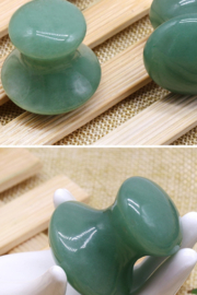Freeship Wholesale - Faire Mushroom Gua Sha Stone Massager - Product Mini Image