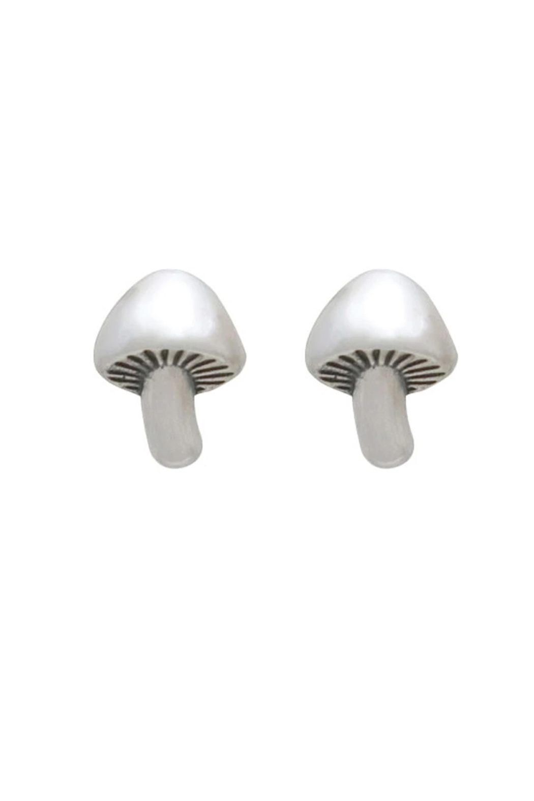 Bronwen Mushroom Post Earrings - Front Cropped Image