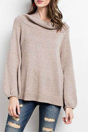easel Mushroom Rollneck Sweater - Product Mini Image