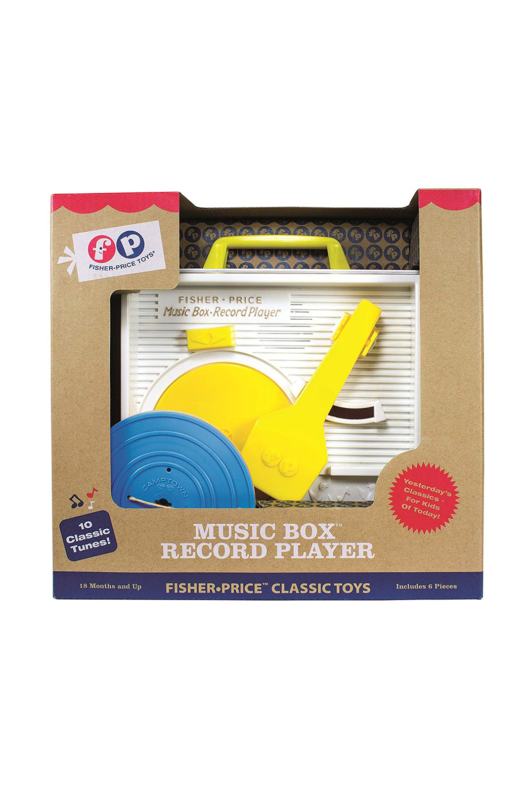 Fisher Price Music Box Record Player - Front Cropped Image