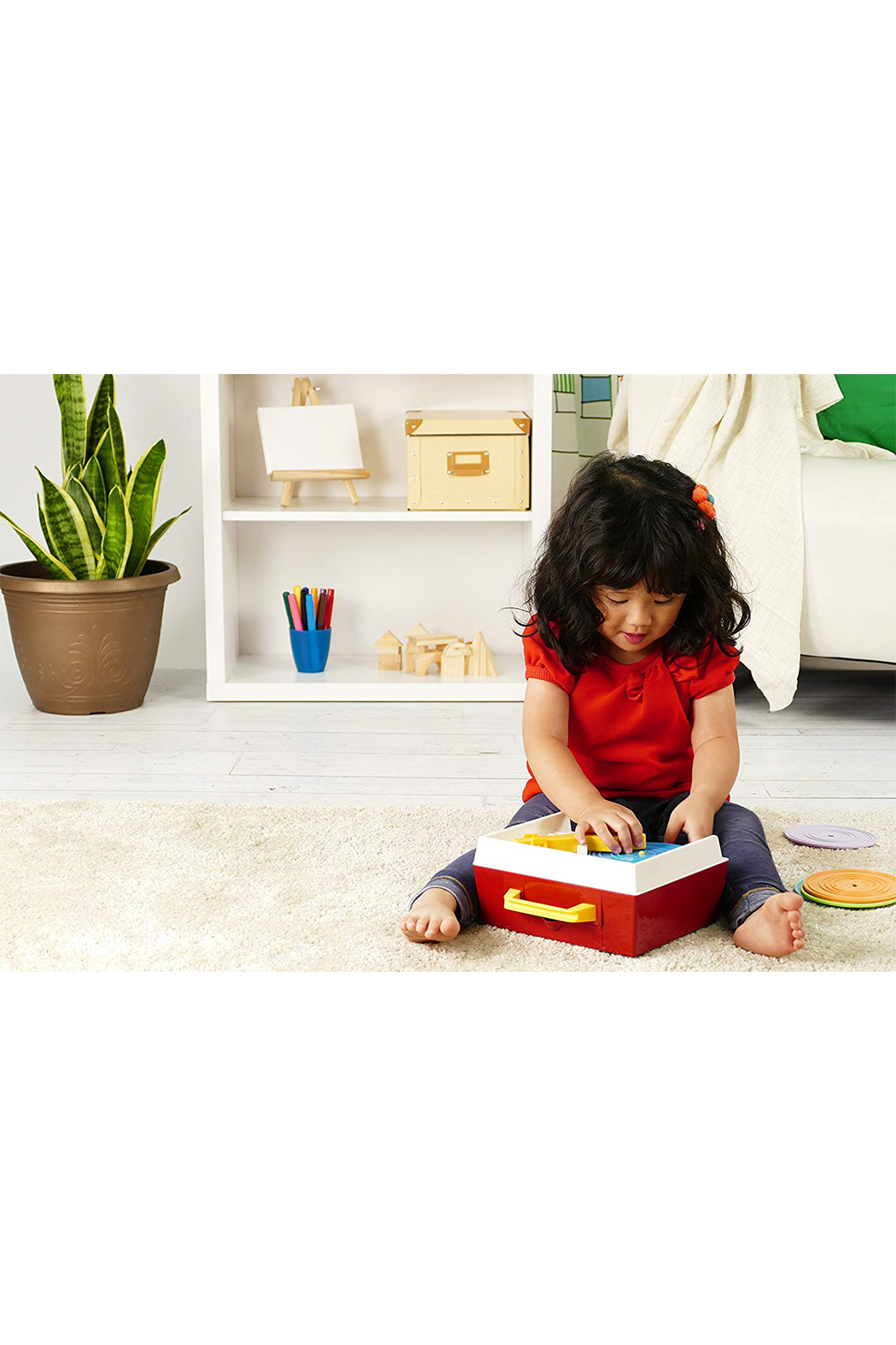 Fisher Price Music Box Record Player - Front Full Image