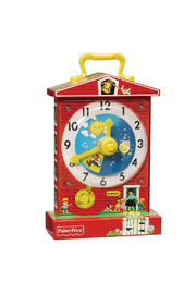 Fisher Price Music Box Teaching Clock - Product Mini Image