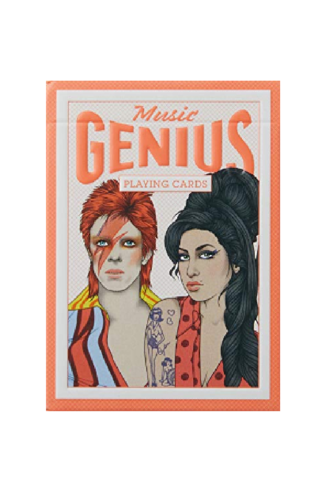 Hachette Book Group Music Genius Playing Cards - Main Image