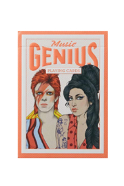 Hachette Book Group Music Genius Playing Cards - Front cropped