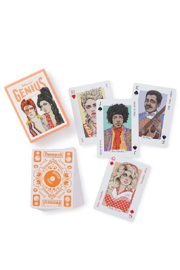 Hachette Book Group Music Genius Playing Cards - Front full body