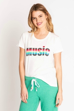 PJ Salvage Music rainbow Tee - Alternate List Image