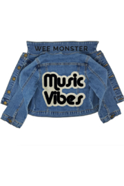Wee Monster Music VIbes Denim Jacket - Front cropped