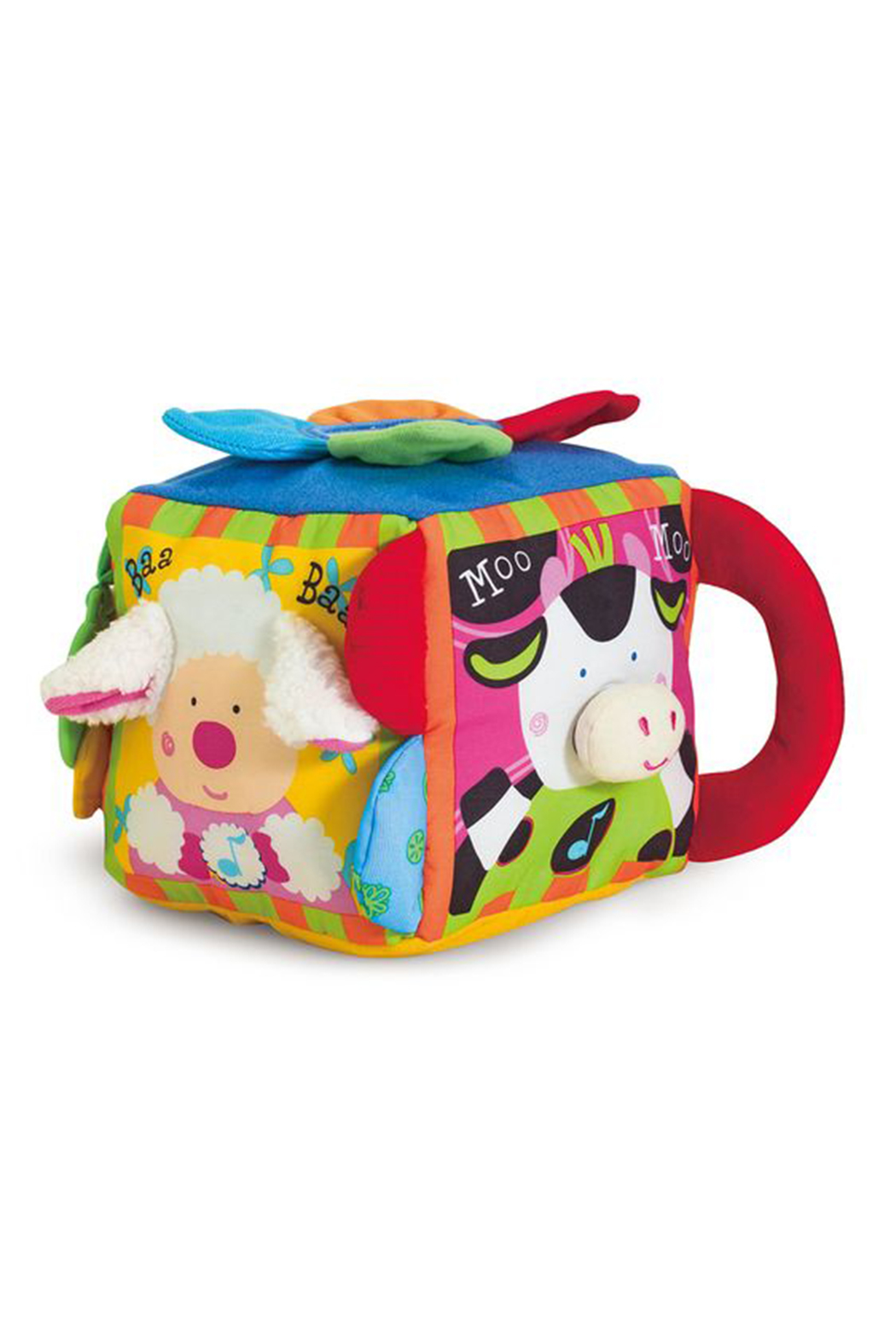 Melissa and Doug Musical Farmyard Cube - Side Cropped Image