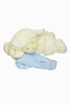 DEMDACO Musical-Plush-Lamb In Blue - Alternate List Image