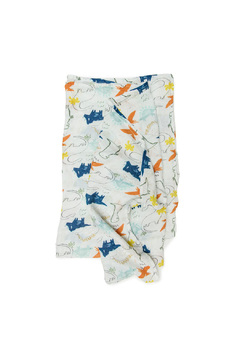 Shoptiques Product: Muslin Swaddle - Dinos