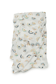 loulou Lollipop  Muslin Swaddle - Neutral Rainbow - Product Mini Image
