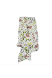 loulou Lollipop  Muslin Swaddle - Sloths - Product Mini Image