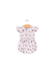 City Mouse Muslin Tie-Waist Romper - Product Mini Image