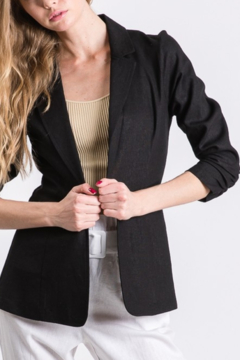 Shoptiques Product: Must Have Linen Blazer