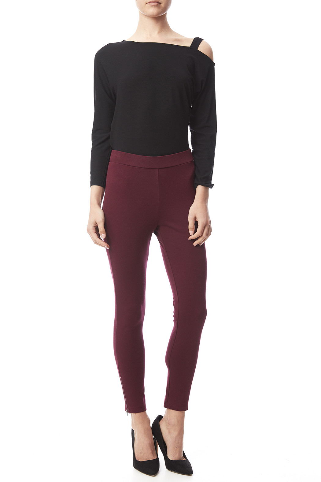 Must Have Zip Bottom Legging from Charlotte by Leola ...