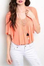 Must Have Crochet Crop Top - Product Mini Image