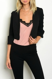 Must Have Crop Black Blazer - Product Mini Image