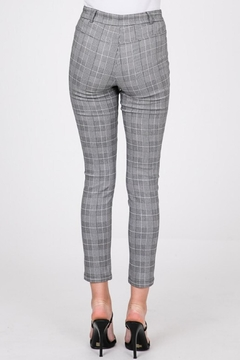 Must Have Jacquard Plaid Pant - Alternate List Image
