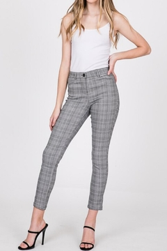 Must Have Jacquard Plaid Pant - Product List Image